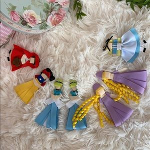Disney Characters Hair Clips